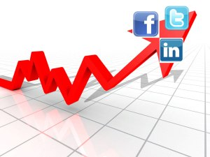 Social media rising