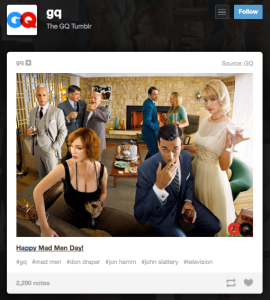 GQ loves Mad Men