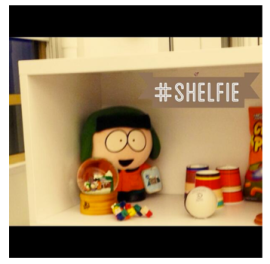 Shelfie Comedy Central